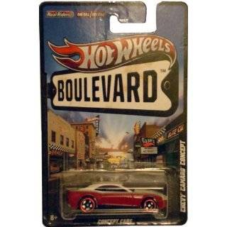 2012 Hot Wheels Boulevard Concept Cars CHEVY CAMARO CONCEPT 164 Scale