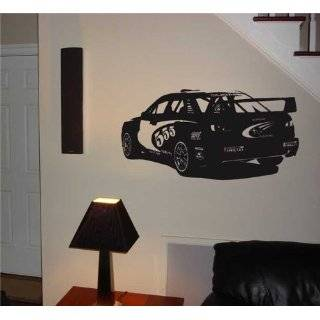 Wall Mural Vinyl Sticker Car Subaru WRX STI Rally 001