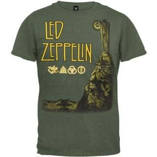 Tour Flyer Soft T Shirt   Small Led Zeppelin   Tour Flyer Soft T Shirt
