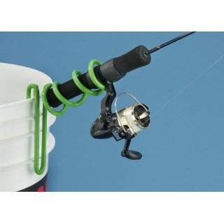 Ap Outdoors Hot Rod Bucket Mount Ice Rod Holder (Hot Green)