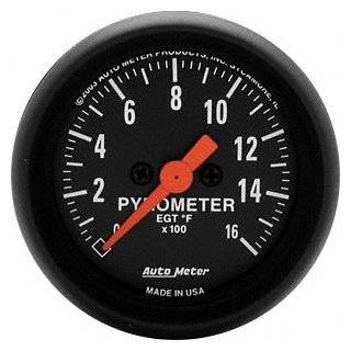 Auto Meter 2654 Z Series 2 1/16 Full Sweep Electric E.G.T Pyrometer