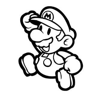 Mushroom   Super Mario Brothers Decal Sticker Sports