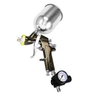 HVLP SPRAY GUN SET   Auto Paint Primer Topcoat Touch Up