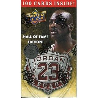Michael Jordan Hall of Fame Factory Sealed Box Set 100 Cards including