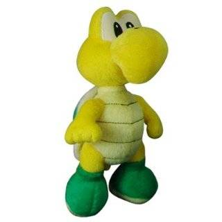 Super Mario Plush   5 Koopa Troopa (Noko Noko) Soft Stuffed Plush Toy