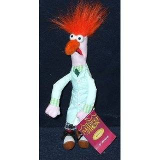 The Muppets Scientist Beaker 9 Plush Bean Bag Doll Toys & Games