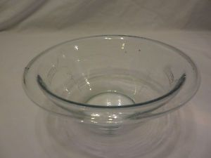 Vintage Anchor Hocking Fire King Depression Glass Blue Philbe Small Bowl