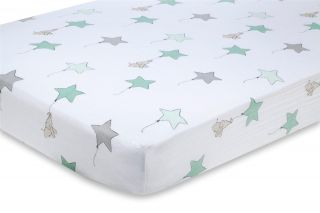 Aden and Anais Baby Toddler Kids Bedding Fitted Crib Sheet Nursery Cotton New