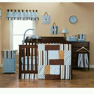 Trend Lab Max Baby Boy Nursery Bedding Set