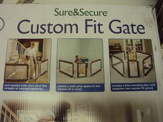 Summer Infant Sure and Secure Custom Fit Baby Pet Safety Gate 7160