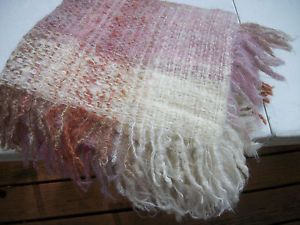 Avoca Hand Woven Wool Throw Blanket Made in Ireland