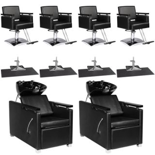New Salon Equipment Chair Mat Shampoo Backwash Unit Bowl Package EB 41A