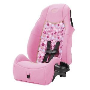 Cosco Juvenile Highback Booster Seat Car Safety Travel Child Toddler Pink Girl