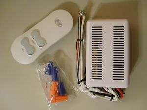 Hunter 27157 Universal Ceiling Fan Light Remote Control Receiver Wireless on Off
