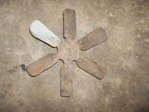 Vintage Ford 8N Tractor Cooling Fan Part Ford 6 Blade Cooling Fan Part 2N 9N NAA