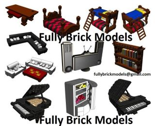 Instructions Lego Victorian Gothic Custom House Modular City Town Building Art