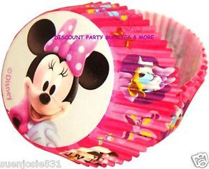 Disney Minnie Mouse Daisy Duck Baking Cups 50pc