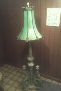 Antique Tiffany Style Floor Lamp