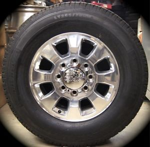 "New 2011 12 GMC Sierra HD 2500 3500 18"" Wheels Rims Tires Chevy Silverado"
