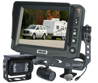 "Veise Horse Trailer Back Up Reverse Camera RV System 5"" LCD"