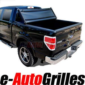 07 12 GMC Sierra HD 8ft Long Size Truck Bed Tri Fold Tonneau Cover Pick Up 8'