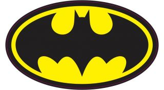 Batman Digitally Printed Vinyl Decal Choose Size Logo Car Window Wall