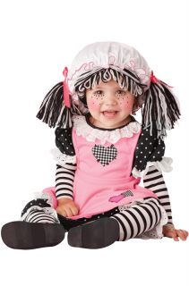 Baby Doll Raggedy Ann Infant Halloween Costume