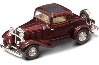 New in Box 1 43 Scale 1932 Ford 3 Window Coupe for MTH Lionel K Line