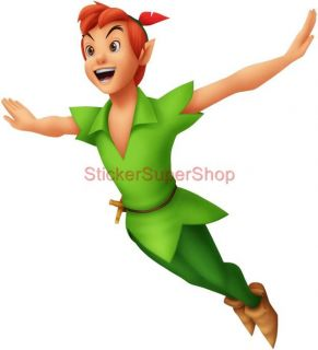 Choose Size Peter Pan Disney Decal Removable Wall Sticker Home Decor Art Movie
