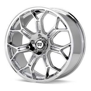 Motegi Racing MR120 MR12098512245 19x8 5 45mm Offset 5x4 5 Chrome Single Rim