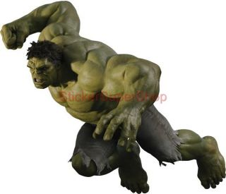 Choose Size The Avengers Hulk Attack Removable Wall Sticker Home Decor Art