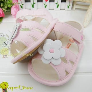 New Toddler Baby Girl Prewalker Sandal First Shoes E94 10 24M Size 345