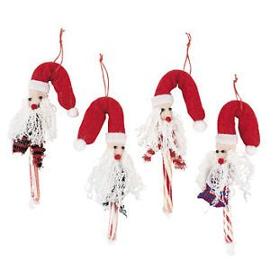 12 Felt Christmas Snowman Candy Cane Cover Ornament Packages Decor Free SH