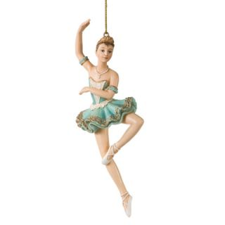 Sugar Plum Fairy in Tutu Nutcracker Christmas Ornament