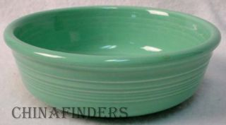 Homer Laughlin China Fiesta Contemporary Sea Mist Green Coupe Cereal Bowl Chip