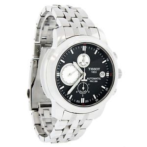 Tissot PRC 200 Mens Black Swiss Chronograph Automatic Watch T014 427 11 051 01