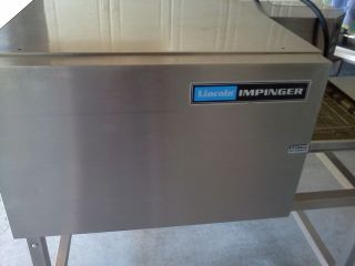 Lincoln Impinger Pizza Sub Oven Conveyor with Stand