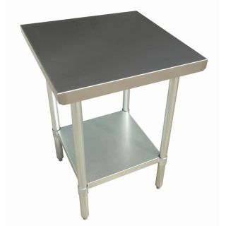 "New Stainless Steel Commercial Kitchen Prep Work Table 30"" x 30"" NSF"