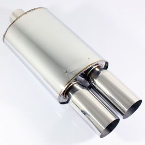 3 Inlet Dual Exhaust Tips