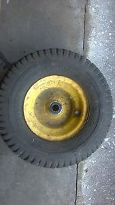 Front Tires and Wheels John Deere STX38 Lawn Mower Tractor 13x6 5x6