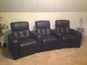 Home Theater Leather Recliner Chairs