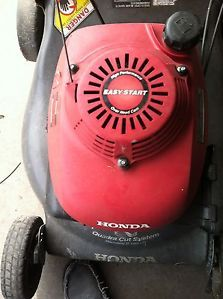 Honda Harmony II HRR216 Lawn Mower w Bag Honda Engine Parts Only