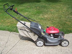 Honda HRX Lawnmower Lawn Mower HRX217TDA not Working 4 Repair or Parts