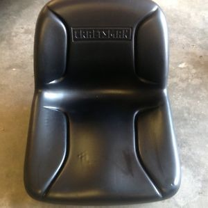 New Black Craftsman Highback Riding Lawn Mower Tractor Seat