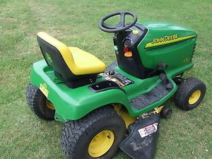 "2004 John Deere LT150 Lawn Tractor Riding Mower Automatic 38"" Many New Parts"