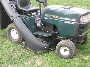 "Craftsman Lawn Tractor Riding Mower 46"" Hydrostatic"
