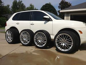 "22"" Porsche Cayenne Wheels Rims Tires"
