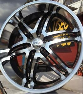 "22"" Boss Wheels Rims Tires 6x139 7 Escalade 2007 2008 2009 2010 2011 2012"