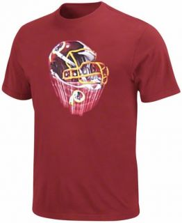 Washington Redskins NFL Team Apparel Helmet Tee Shirt Big Tall Sizes