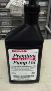 Robinair Vacuum Pump Oil 16 oz Part 13119